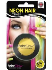 Paint Glow Neon UV Hair Chalk - Yellow
